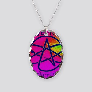 We Are Stardust Necklace Oval Charm