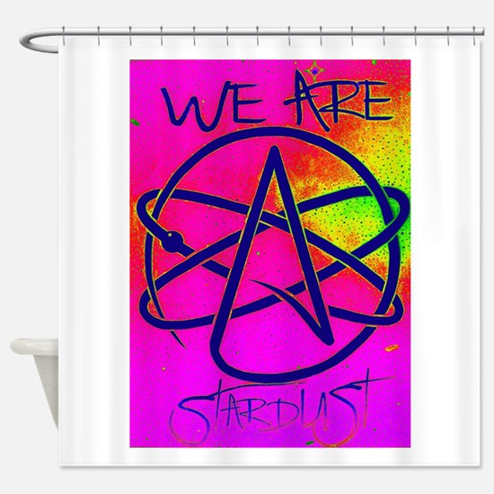 We Are Stardust Shower Curtain