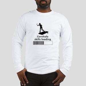 Cornhole Skills Loading Long Sleeve T-Shirt