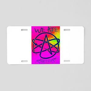 We Are Stardust Aluminum License Plate