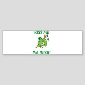 Kiss Me I Am Irish Sticker (Bumper)