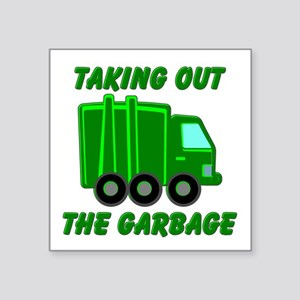 Taking out the Garbage Sticker
