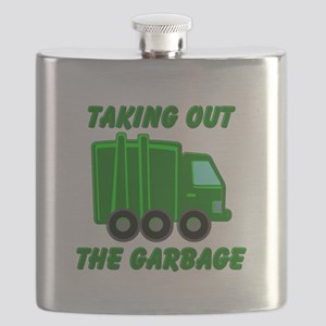 Taking out the Garbage Flask