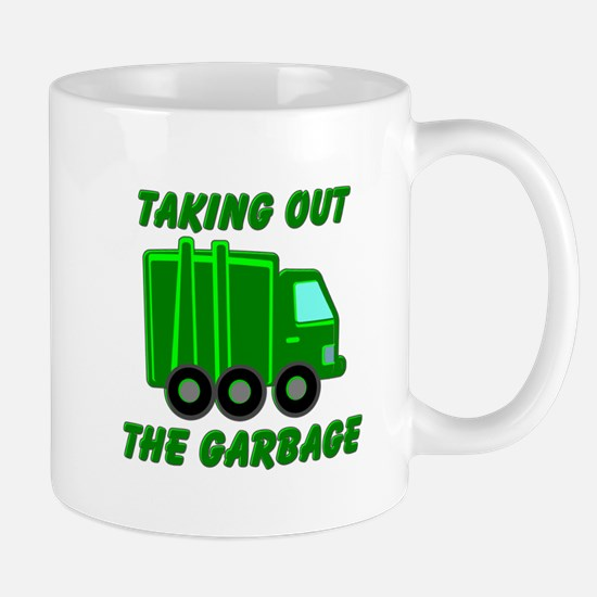 Taking out the Garbage Mugs