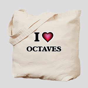 I Love Octaves Tote Bag