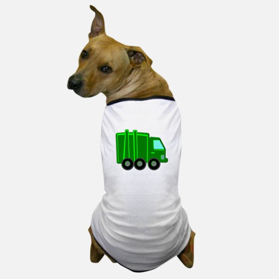 Garbage Truck Dog T-Shirt