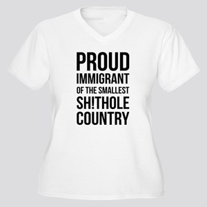 proud immigrant of the smallest Plus Size T-Shirt