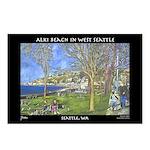 Alki Beach, West Seattle Postcards (Package of 8)