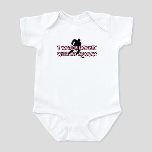 Columbus Hockey Mommy Infant Bodysuit