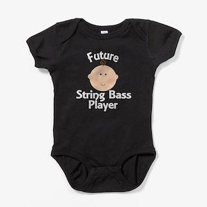 Future String Bass Player Baby Bodysuit