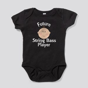 Future String Bass Player Baby Bodysuit