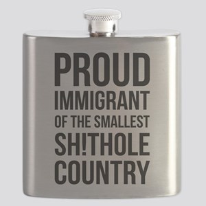 proud immigrant of the smallest shithole cou Flask