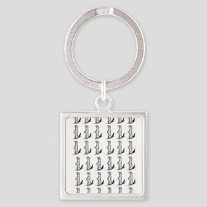 pattern squirrel art Keychains