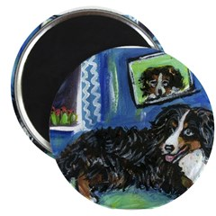 BERNESE MOUNTAIN DOG Art! 2.25