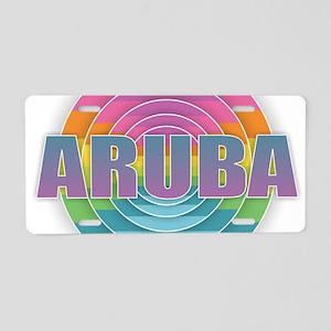 Aruba Aluminum License Plate