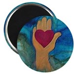Heart in Hand Magnet