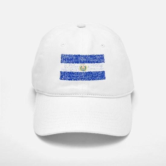 Textual El Salvador Baseball Baseball Cap