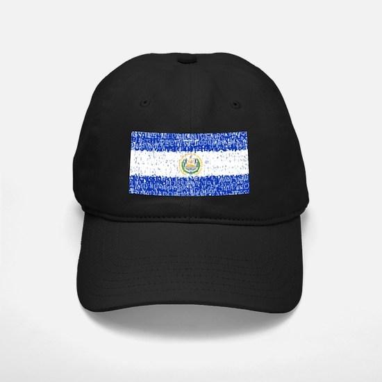 Textual El Salvador Baseball Hat