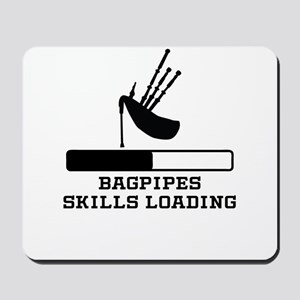 Bagpipes Skills Loading Mousepad