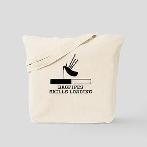 Bagpipes Skills Loading Tote Bag