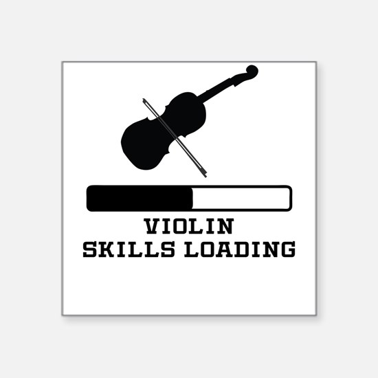 Violin Skills Loading Sticker