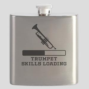 Trumpet Skills Loading Flask