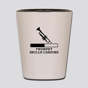 Trumpet Skills Loading Shot Glass