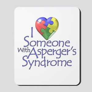 Asperger's Syndrome Autism Awareness Mousepad