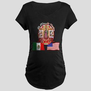 Reina de Mexico Maternity Dark T-Shirt