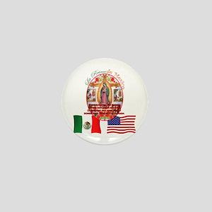 Reina de Mexico Mini Button