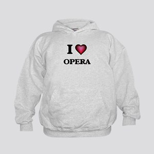 I Love Opera Kids Hoodie