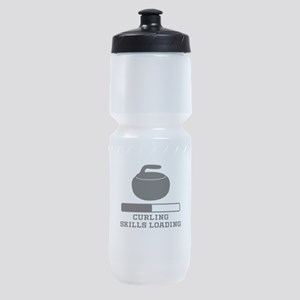 Curling Skills Loading Sports Bottle