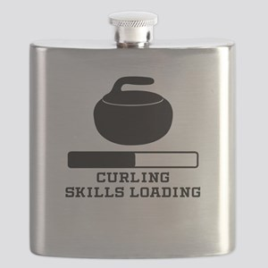 Curling Skills Loading Flask