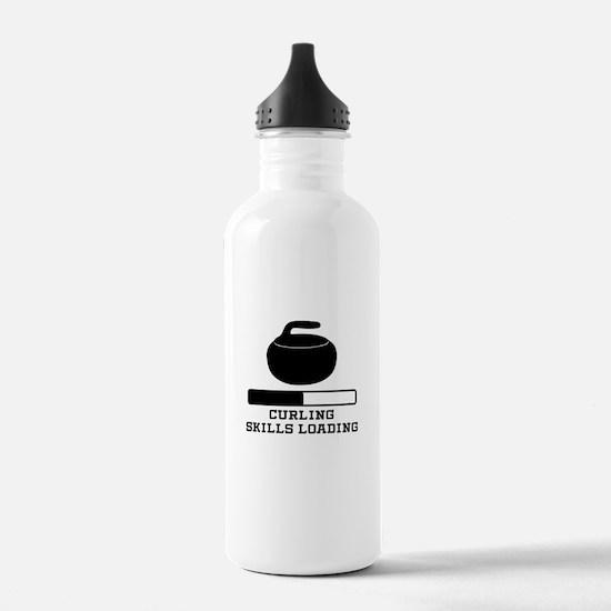 Curling Skills Loading Water Bottle