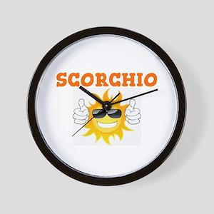 SCORCHIO - SUNSHINE! Wall Clock