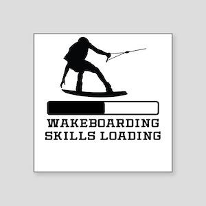 Wakeboarding Skills Loading Sticker