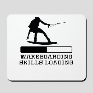 Wakeboarding Skills Loading Mousepad