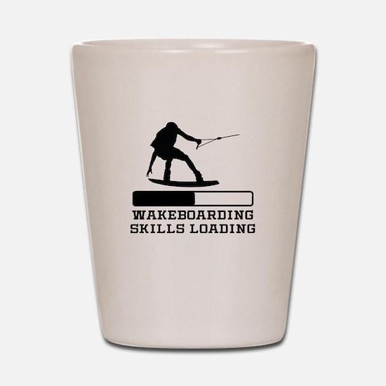 Wakeboarding Skills Loading Shot Glass
