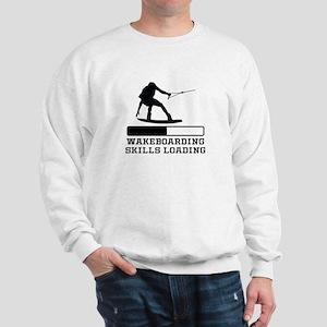 Wakeboarding Skills Loading Sweatshirt