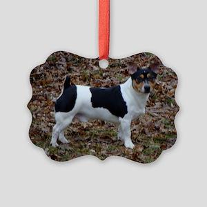 Terrier Picture Ornament