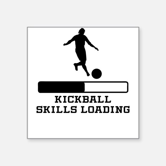 Kickball Skills Loading Sticker