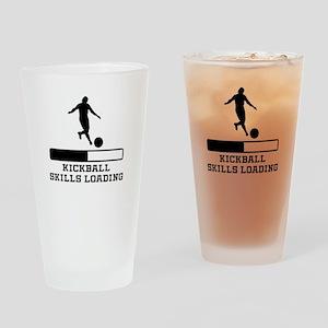 Kickball Skills Loading Drinking Glass