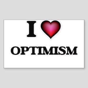 I Love Optimism Sticker