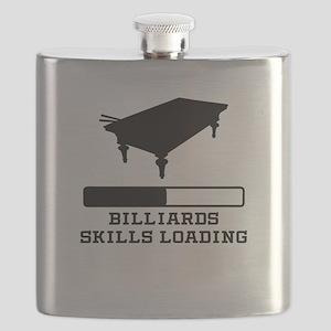 Billiards Skills Loading Flask