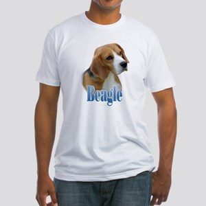 Beagle Name Fitted T-Shirt