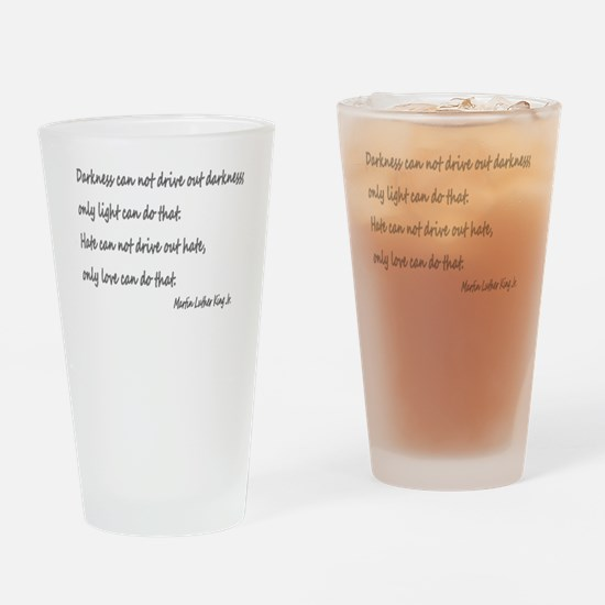 Unique Martin luther king Drinking Glass