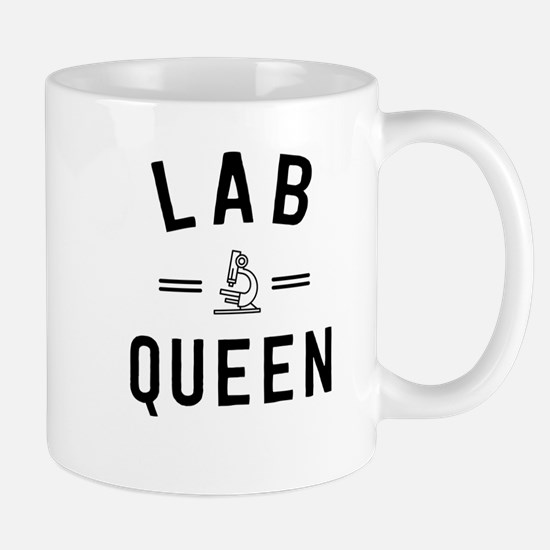 Lab Queen Mugs