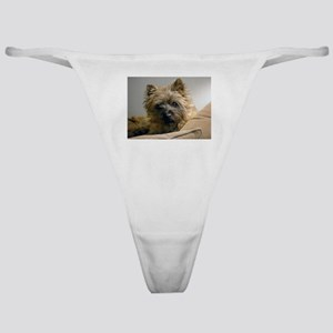 Pensive Cairn Terrier Classic Thong