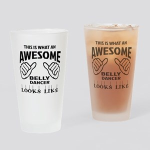 This is what an awesome Belly dance Drinking Glass