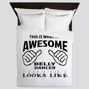 This is what an awesome Belly dancer l Queen Duvet